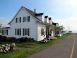 les petites maisons blanches de la presqu'ile