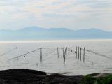 Les filets de pêche sont montés