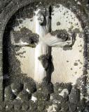 Mousse sur la croix
