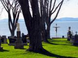 le cimetière de Notre-Dame-du-Portage