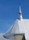 Le clocheton de l'Église de Saint-André, Kamouraska