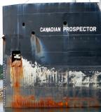 la Proue du Canadian prospector