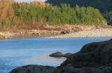 bleu comme l'eau du Saguenay