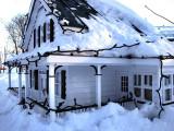 la maison enneigée