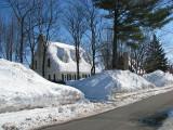 maison de Cap Rouge en hiver