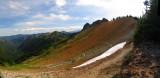 Cispus Pass Panorama view south