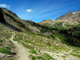Approaching Cispus Pass from the south