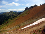 View south from Cispus Pass