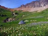 My campsite in upper Cispus Basin