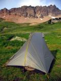 My Shires Rainbow tent in Cispus Basin