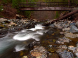 Cliff Valley PCT Bridge over Grider Creek
