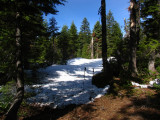 Another snow field along PCT