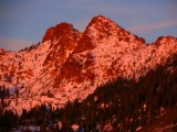 Red Buttes sunrise
