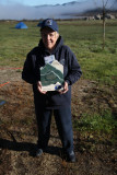 Teddi with her Aldo Leopold Award