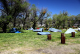 2010 PCT hiker camps