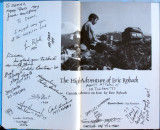 Trail veterans I met at the KO, and signed my PCT book