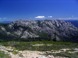 Castle Crags seen from PCT