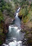 Clear Creek canyon gorge
