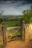 A Look Over The Gate ...