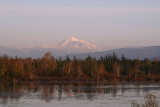 Mt. Baker over Tenant Lake