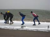Schaatsen, Flevonice, Biddinghuizen, 21 december 2007