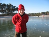 Skating, Henschotermeer, 29 january 2006