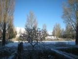 Snow, De Bilt, 25 march 2008