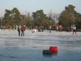 006 - Leersumscheveld: het eerste schaatsijs!