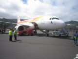 320 - Iberia flight back from La Palma to Madrid