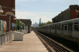 The Train to O'Hare (Sears Tower beyond)