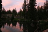 Dawn at Devil's Lake