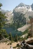 Alpine Lake, Sawtooth Mountains