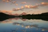Grand Teton Range at dawn