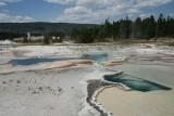 Hot springs at Yellowstone