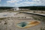 Thermal pool at Yellowstone