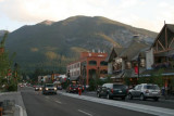 Main street of Banff
