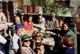 Paul and the gang in Namche