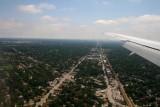 Landing at O'Hare Airport