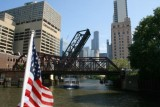 Boat trip on Chicago River