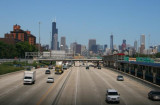 Highway into Chicago