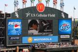 White Sox scoreboard, Chicago