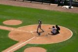 Batsman on the mound, Chicago