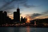 Navy Pier at night, Chicago