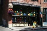 A Seattle pottery shop