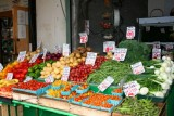 A fruit stall in Pike's Place, Seattle