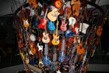 A stack of guitars, Seattle