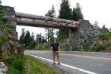 Paul on the Chinook pass, Mt Rainier NP