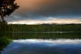 Lake Takhlakh near Mount Adams