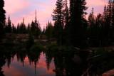 Devil's Lake at dawn