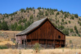 A barn in John Day river valley